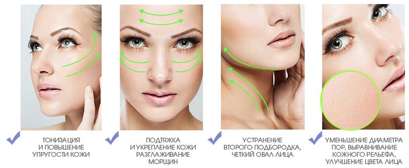Как сделать чтобы кожа лица было упругим
