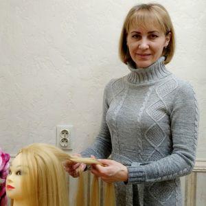 Мастер-методист по парикмахерскому искусству Алла Дмитриевна