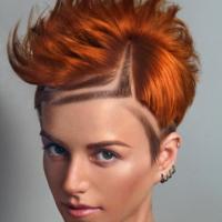 Hair tattoo (художественный выстриг волос)